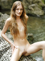 Tiny Breasts, Claudia | Girl In Nature